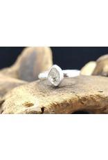 Herkimer Diamond Ring - Size 7