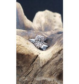 Owl Ring - Size 6.5