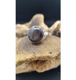 Black Star Ring - Size 6.5