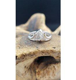 Herkimer Diamond Ring - Size 6.5