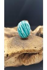 Amazonite Ring - Size 6.5