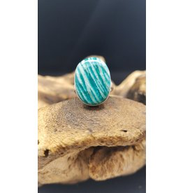 Amazonite Ring - Size 6.5