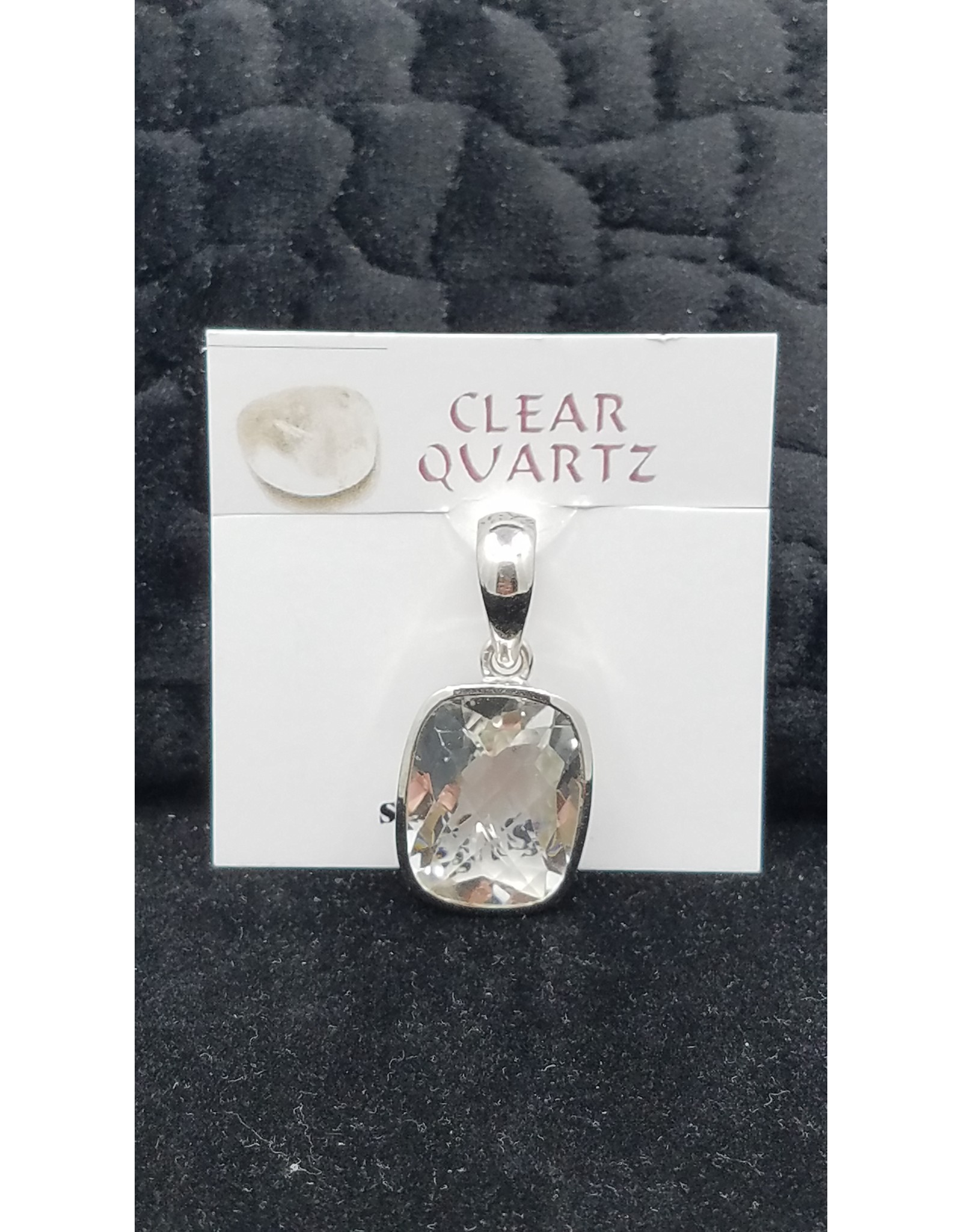 Clear Quartz Pendant