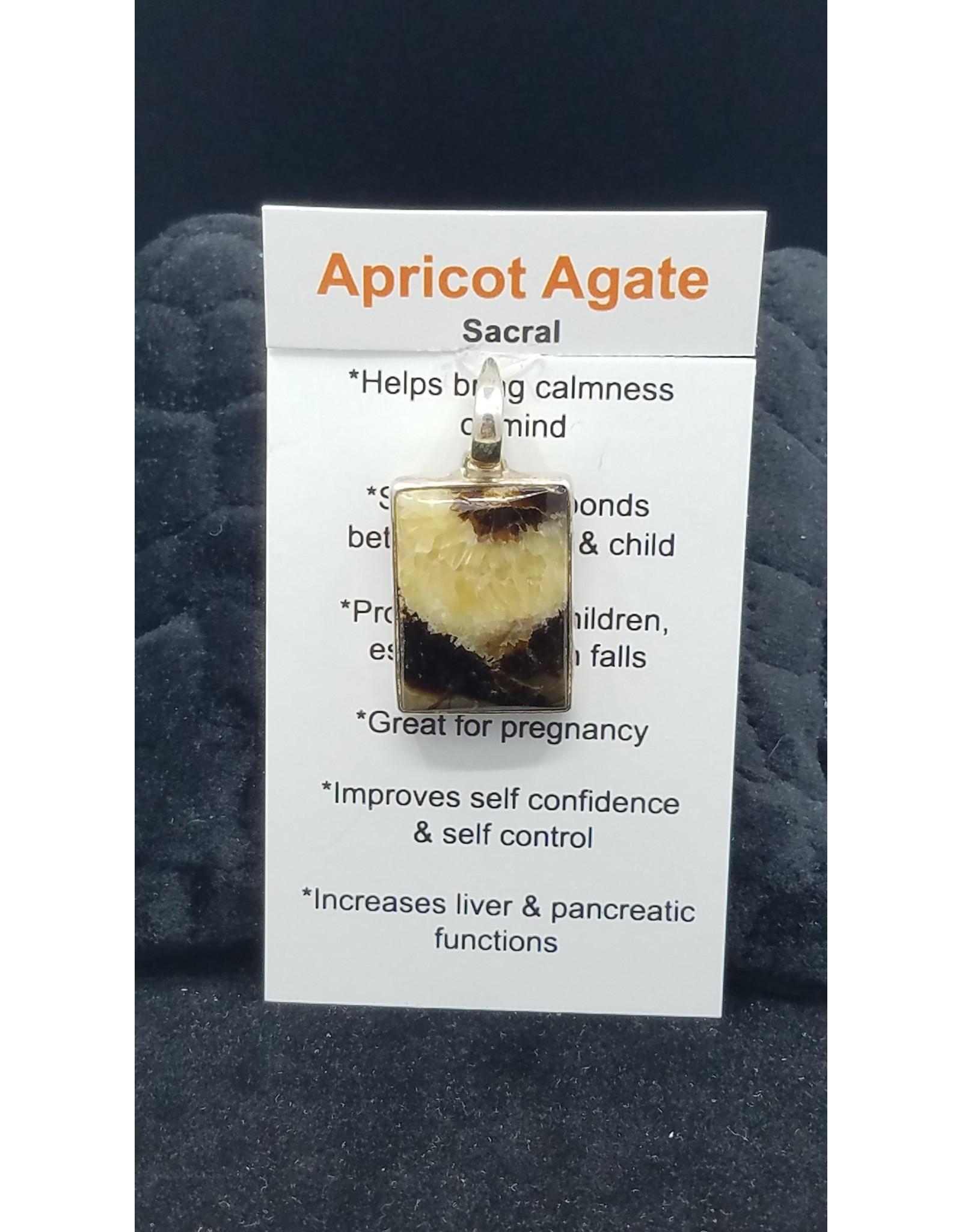Apricot Agate 2 Pendant