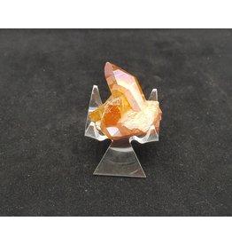 Tangerine Aura Quartz - Medium