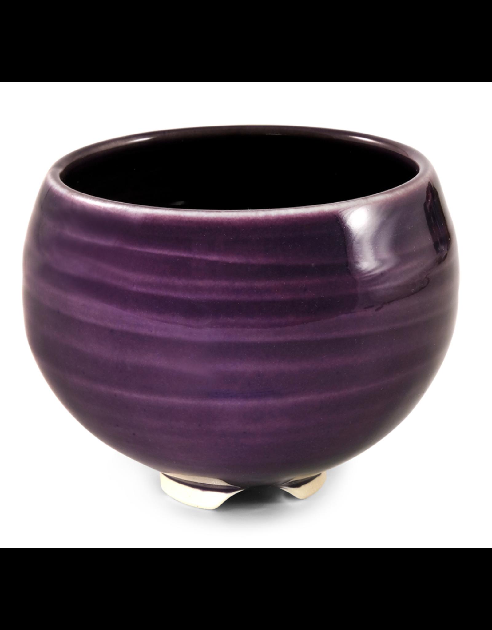 Ceramic Bowl - Plum