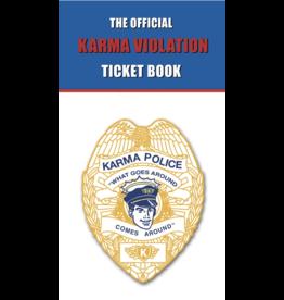 Karma Violation Ticket Book
