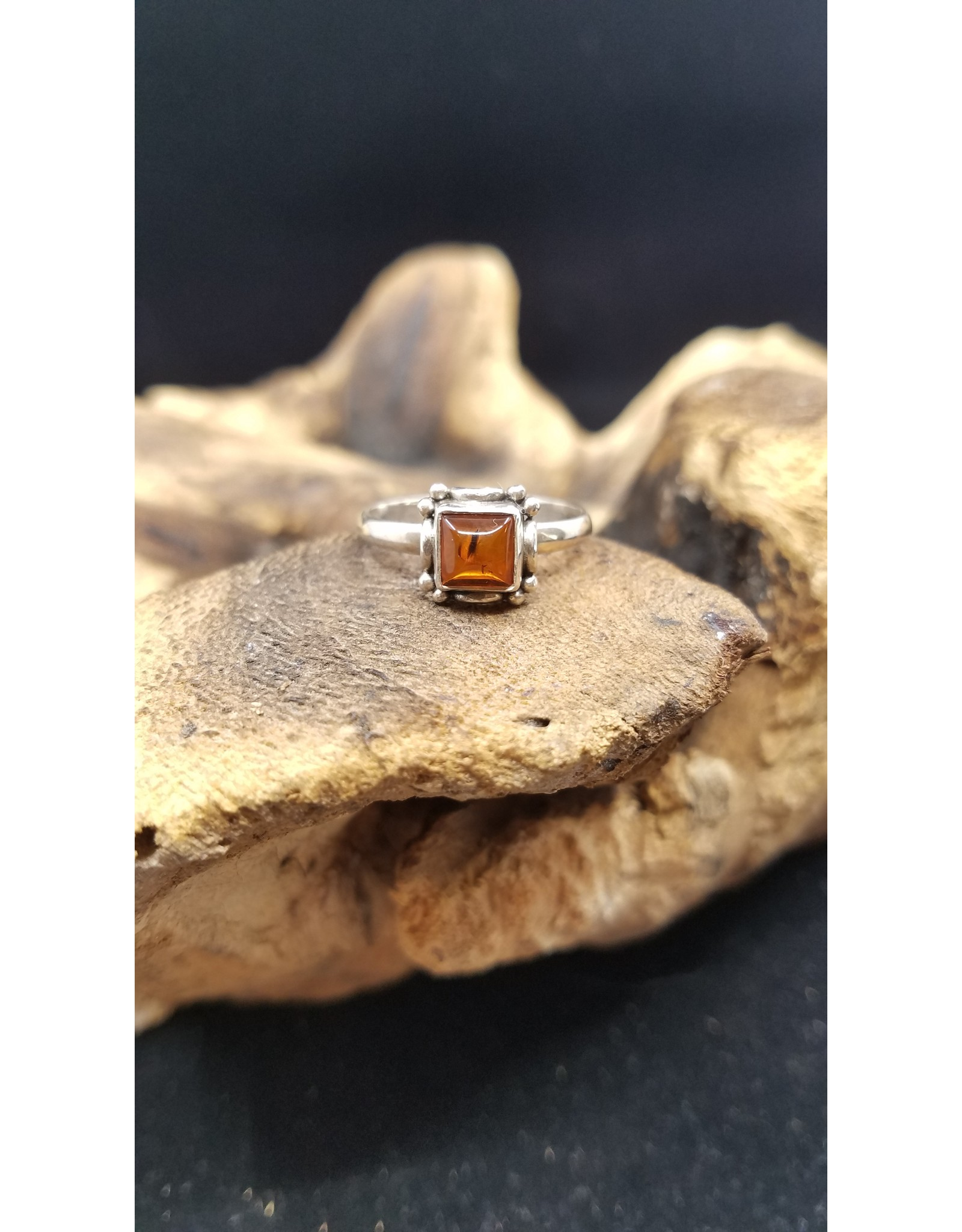 Amber Ring - Size 9