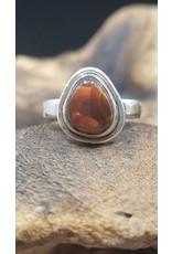 Fire Opal Ring - Size 9