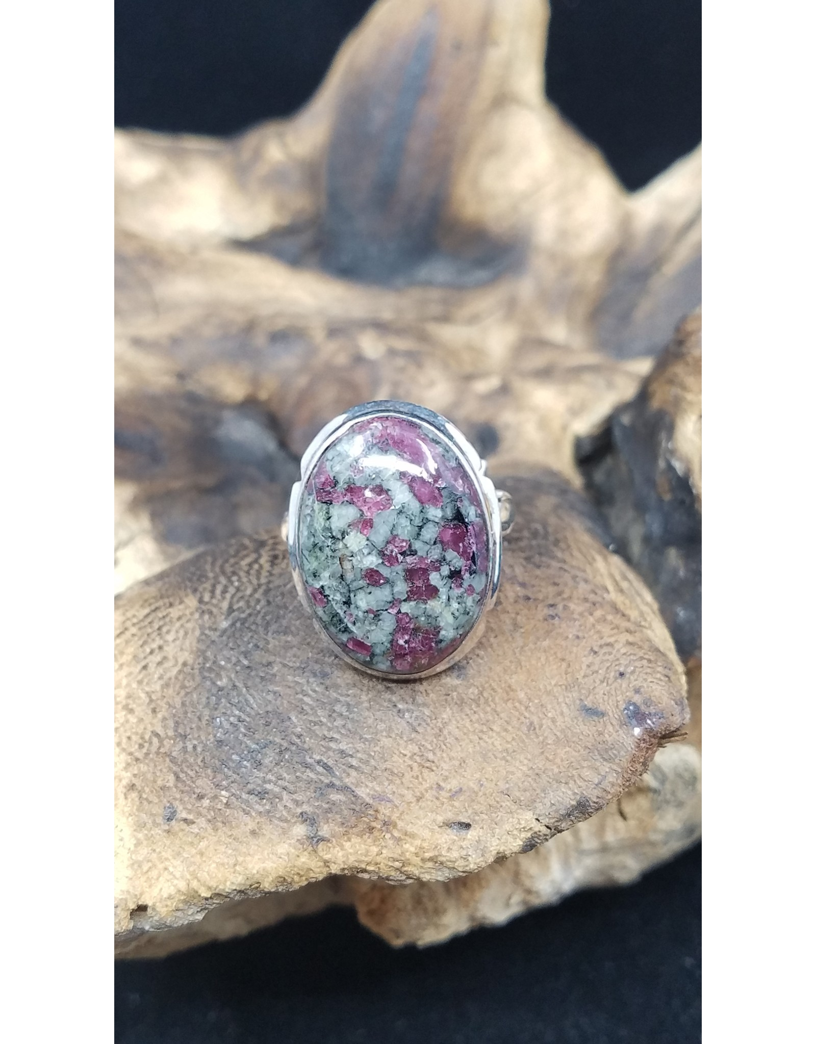 Eudialyte Ring - Size 9