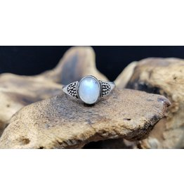 Moonstone Oval Ring - Size 9