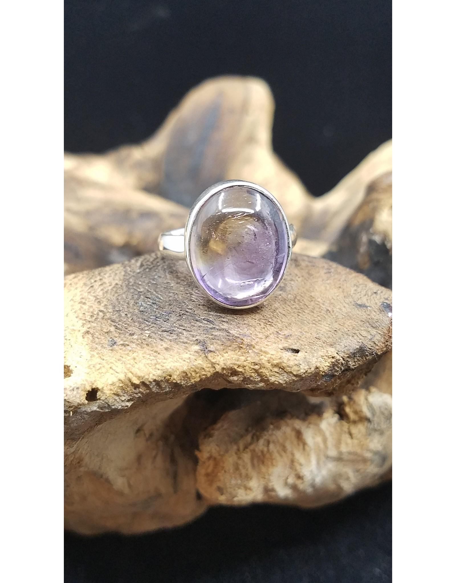 Ametrine Oval Ring - Size 9