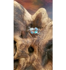 Abalone Shell Ring - Adjustable
