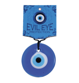 "Blue Glass Evil Eye 2"""