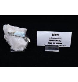 Beryl Aquamarine Specimen