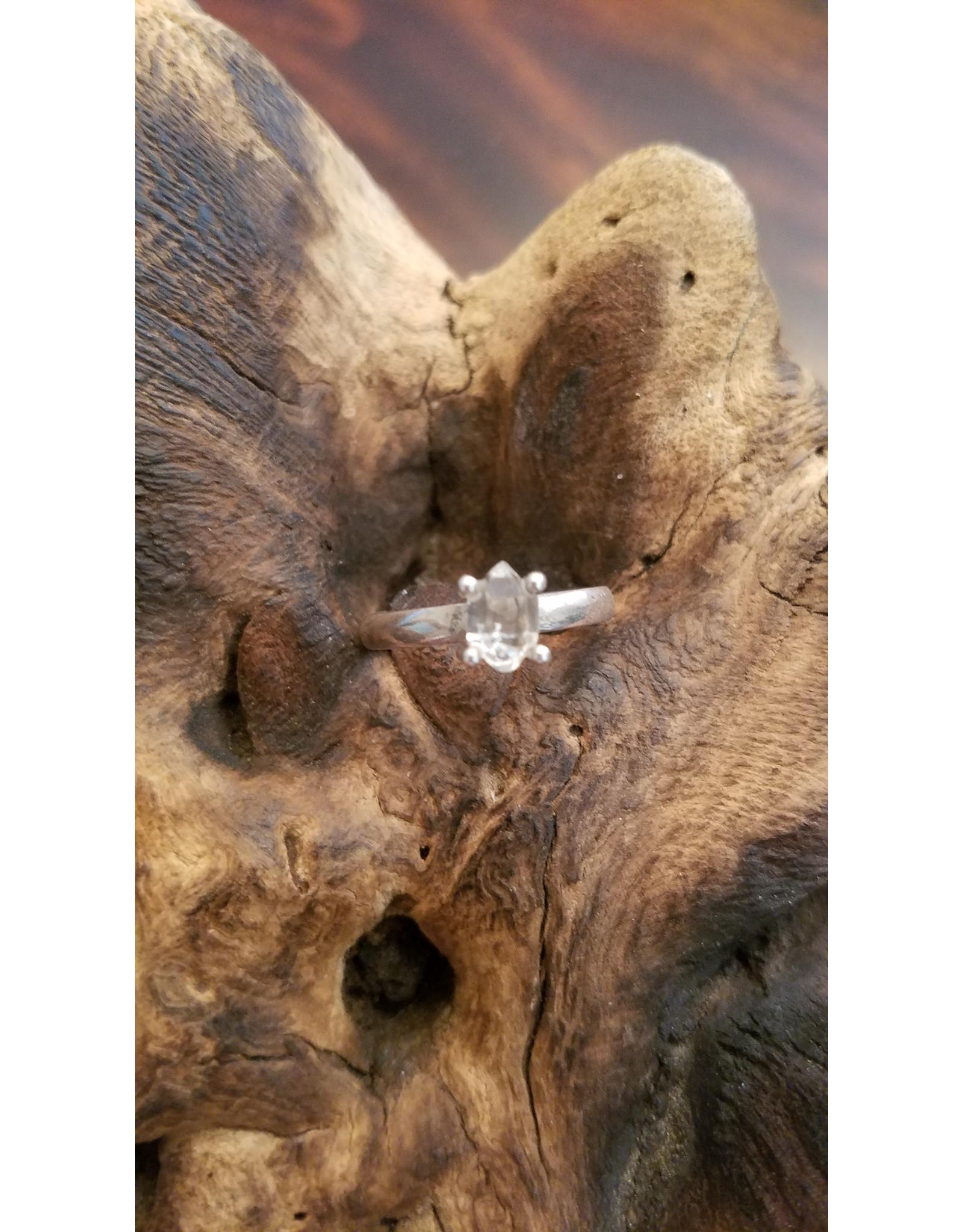 Herkimer Diamond Ring - Size 10