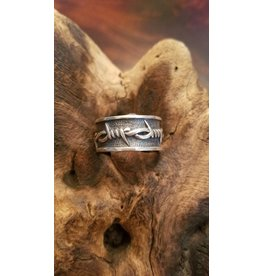 Men's Silver Ring - Size 13
