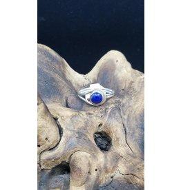 Lapis Lazuli Round Ring - Size 10