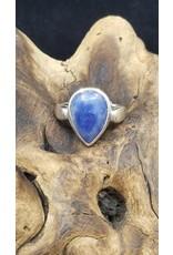 Sodalite Tear Drop Ring - Size 11
