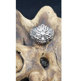 Men's Sterling Silver Ring - Size 14