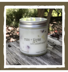 Herb Candle - Rose & Thyme