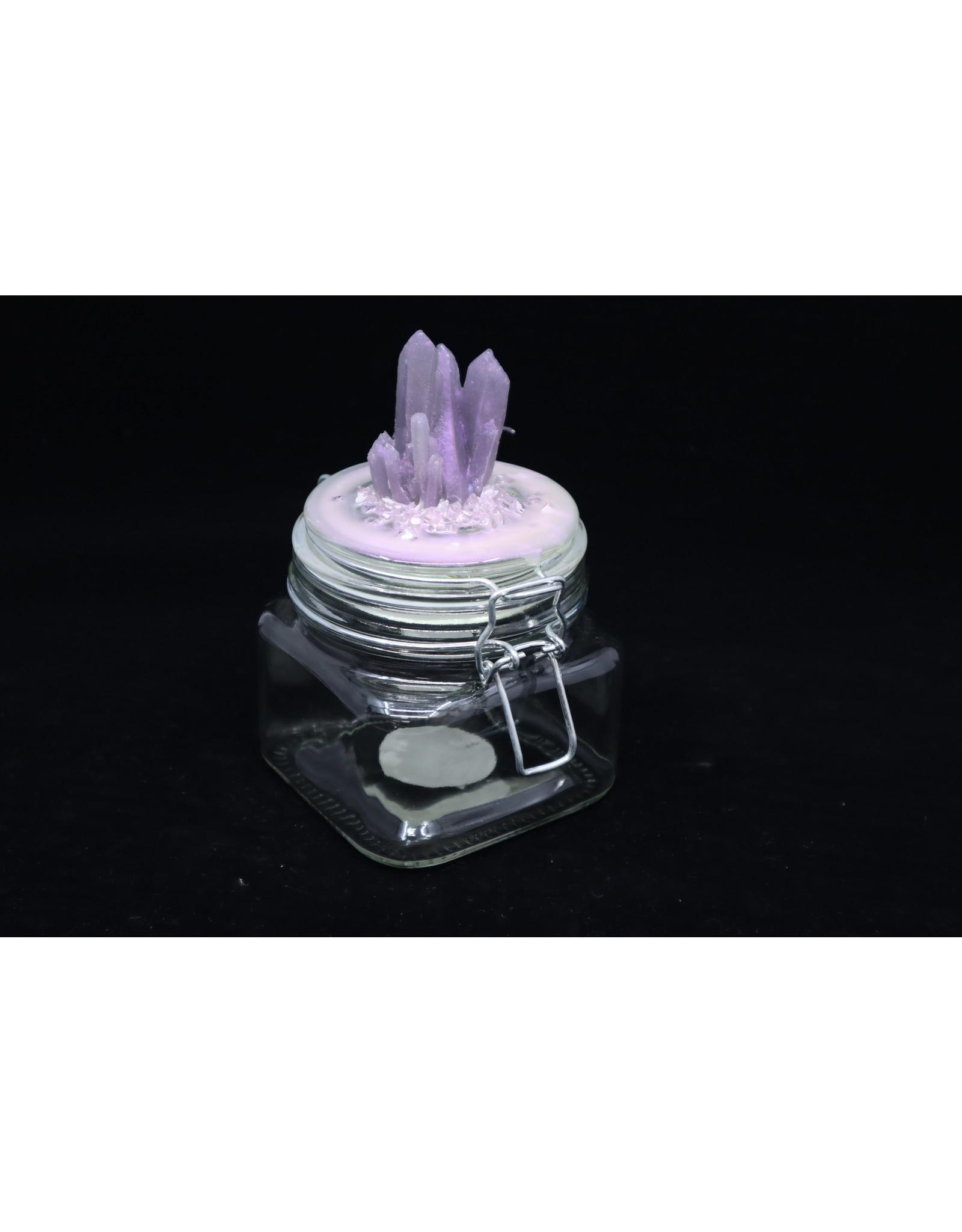 Resin Crystal Jar #5