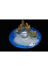 Resin Crystal Candle Plate #19