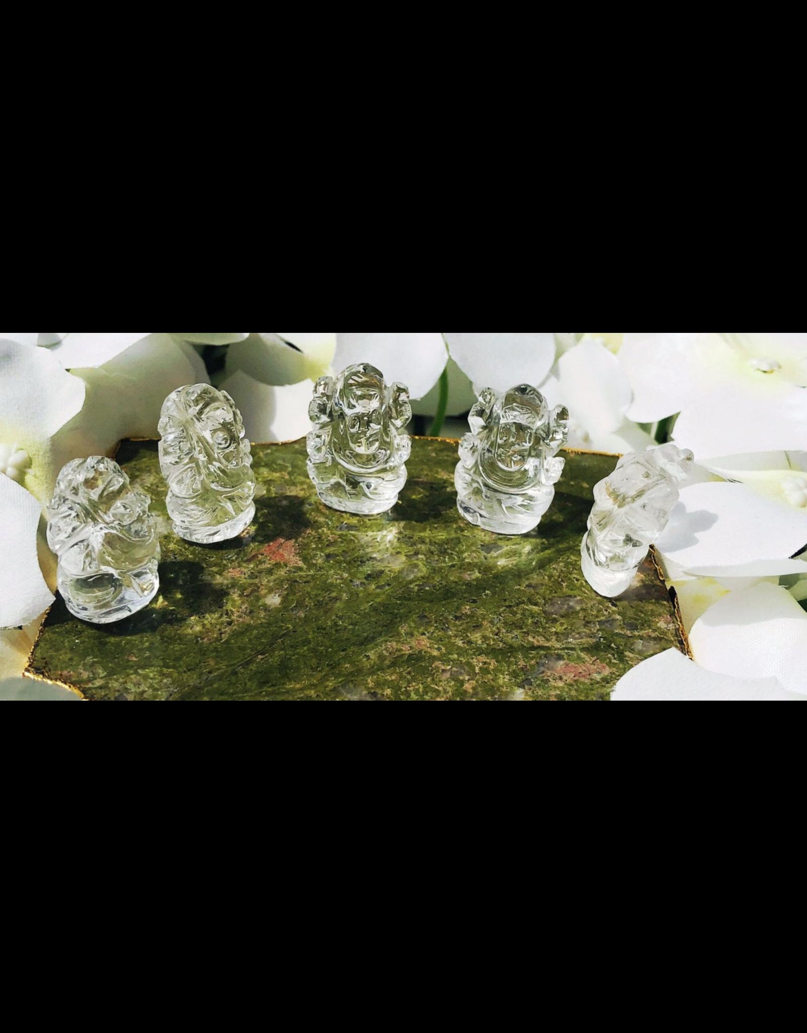 Ganesha - Clear Quartz