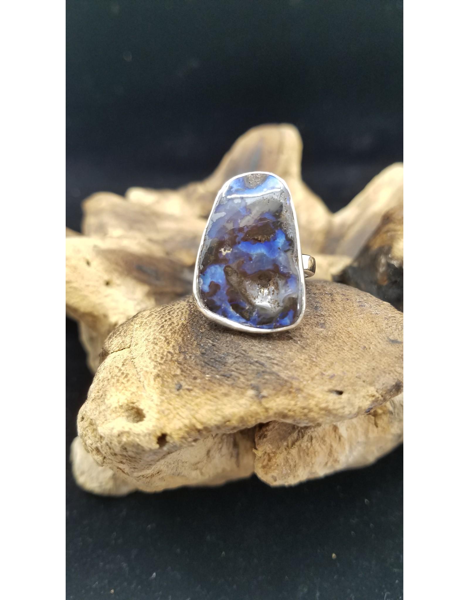 Boulder Opal Ring 1 - Adjustable