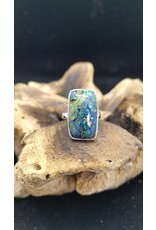 Azurite Malachite Ring 1 - Adjustable