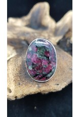 Eudialyte Ring 1 - Adjustable