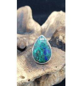 Azurite Malachite Ring 2 - Adjustable