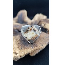 Septarian Rhyolite Ring - Adjustable