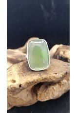 Nephrite Jade Ring 3 - Adjustable
