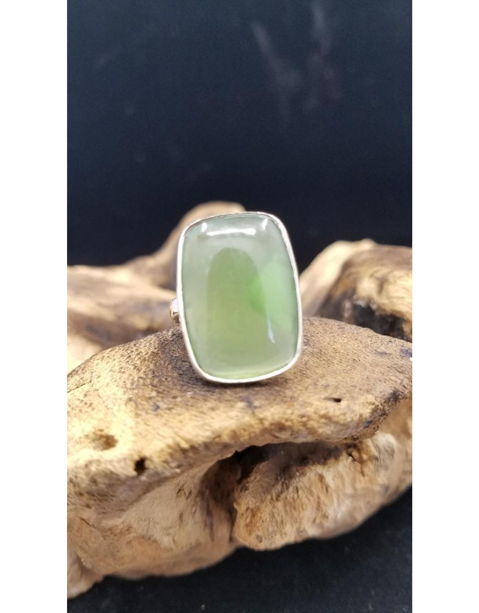 Nephrite Jade Ring 3 - Adjustable