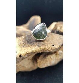 Moldavite Ring 1 - Adjustable