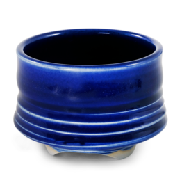Ceramic Bowl - Cobalt Blue Cup