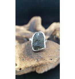 Moldavite Ring 2 - Adjustable