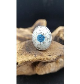 K2 Jasper Oval Ring 1 - Adjustable