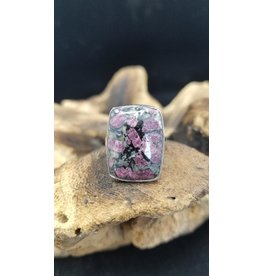 Eudialyte Ring 2 - Adjustable