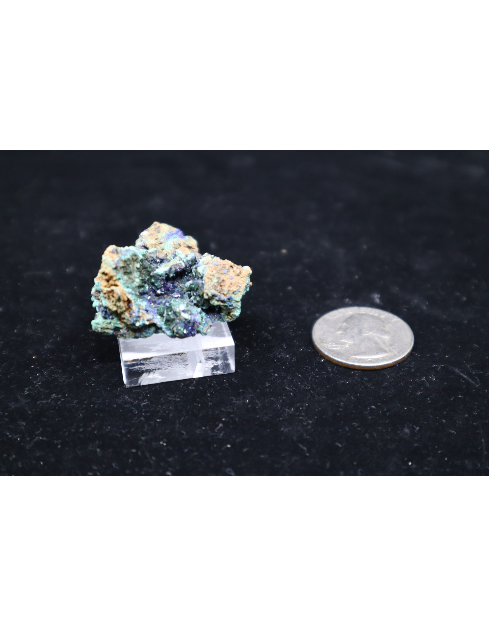 Azurite w/Malachite 7