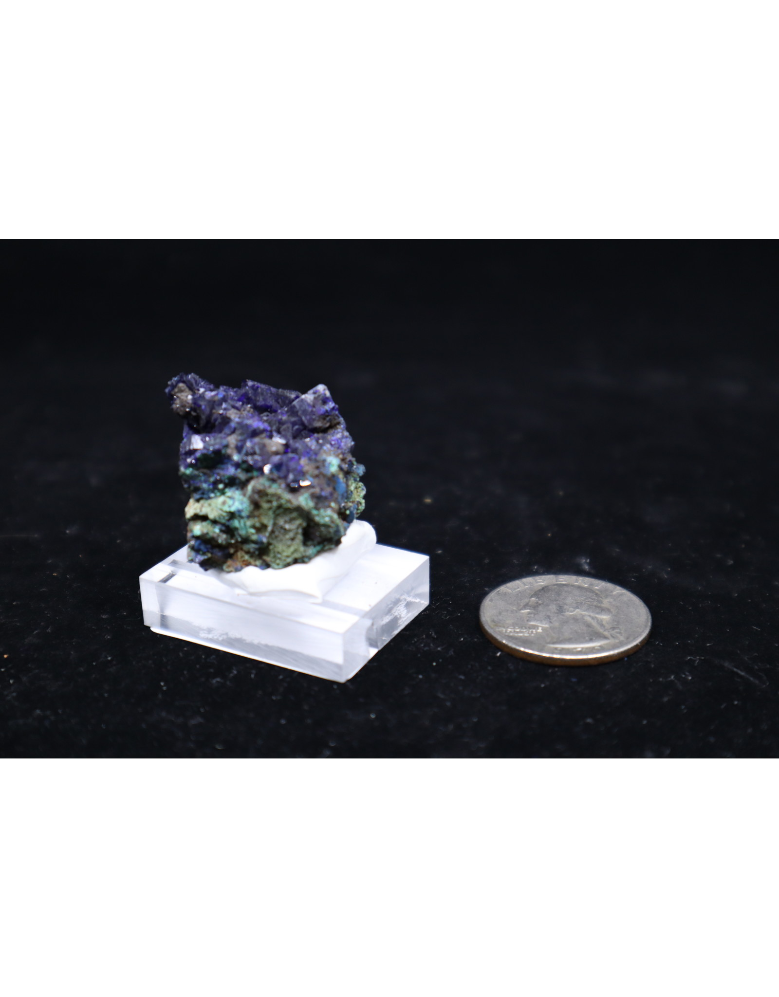 Azurite w/Malachite 11 - Rough