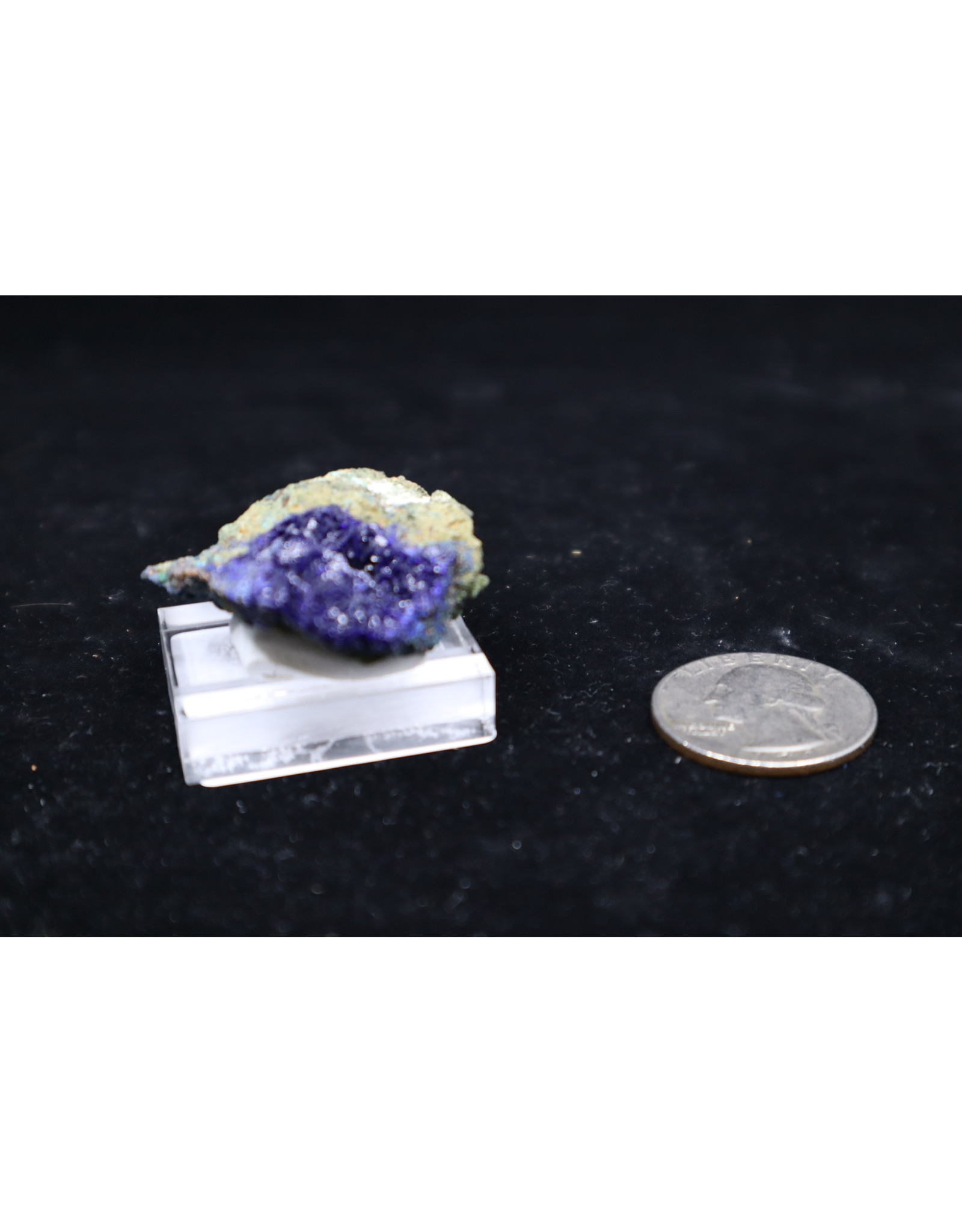 Azurite w/Malachite 12 - Rough