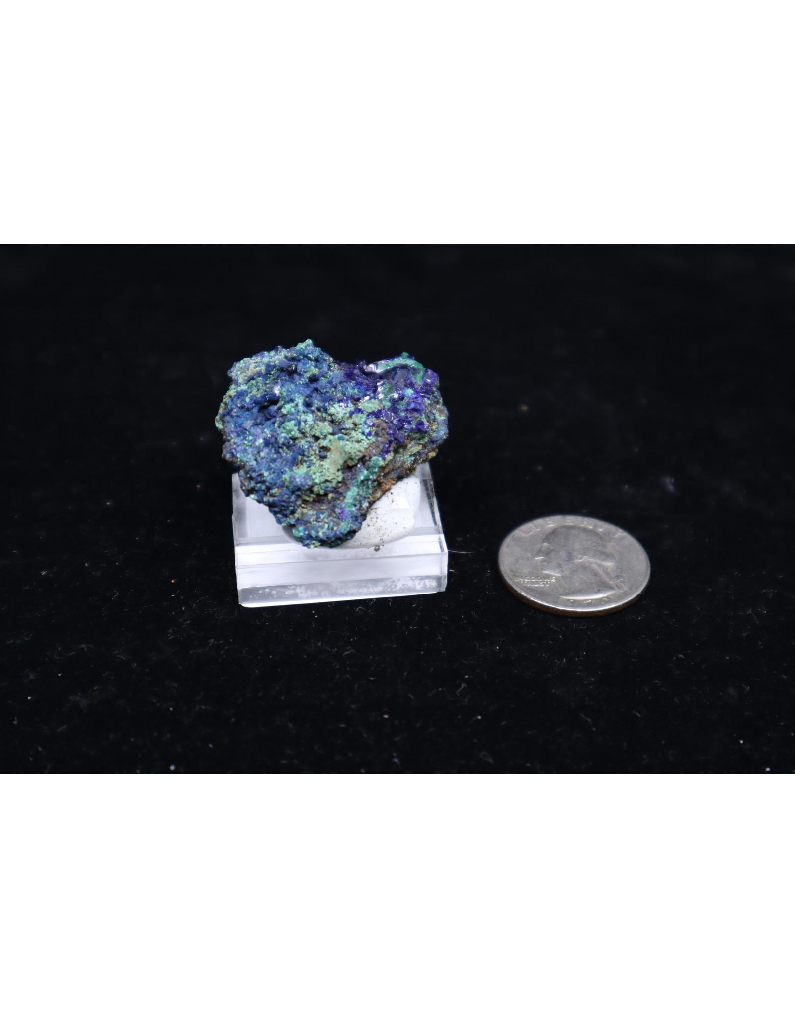 Azurite w/Malachite 13 - Rough
