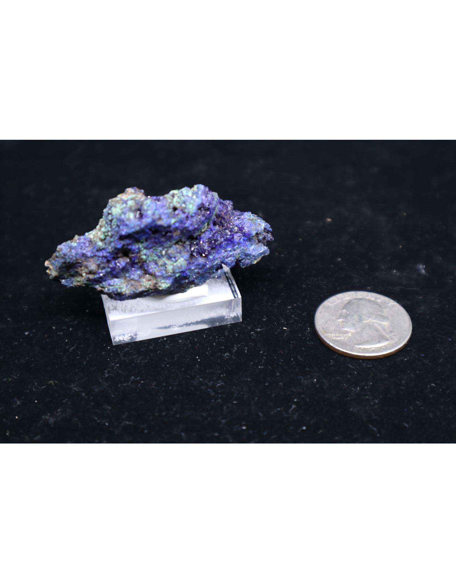 Azurite w/ Malachite 15 - Rough Raw Natural