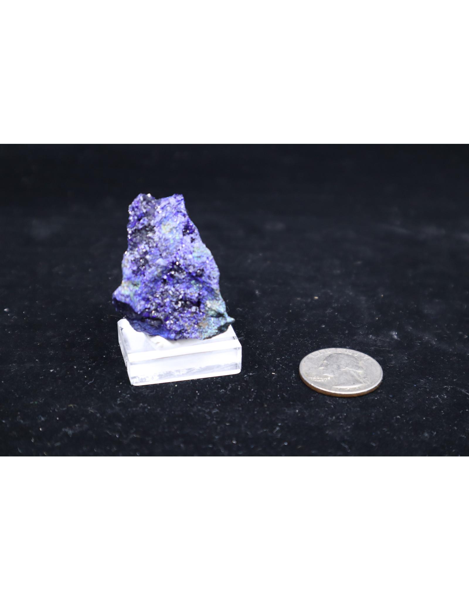 Azurite w/Malachite 17