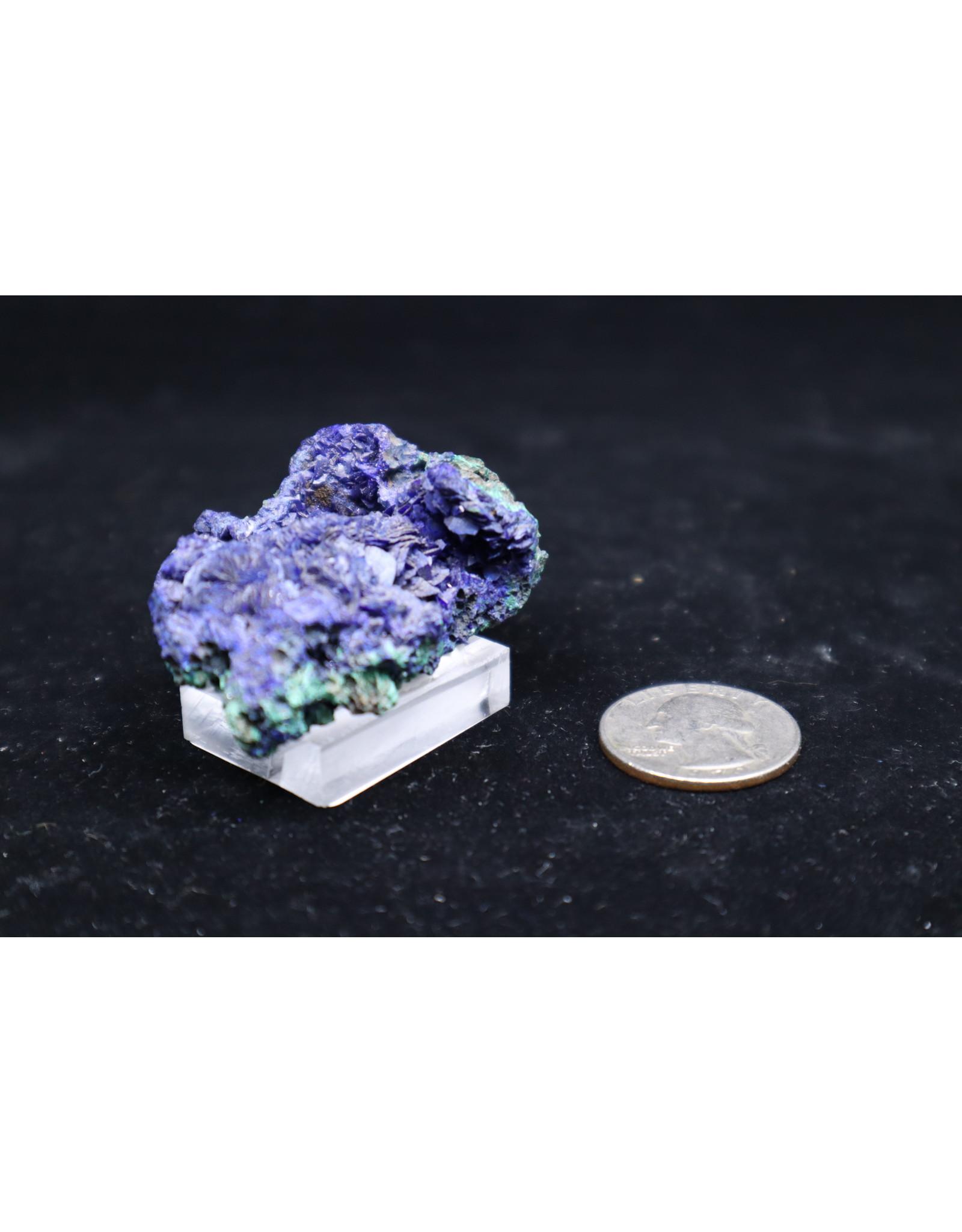 Azurite w/Malachite 21