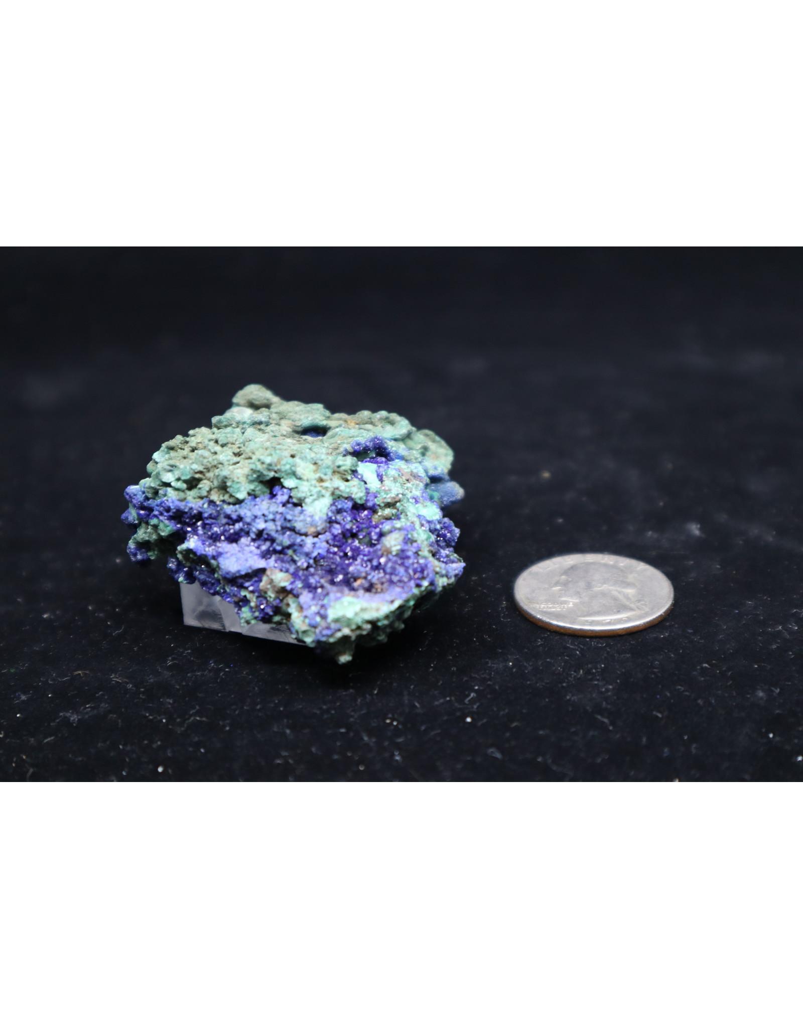 Azurite w/Malachite 26
