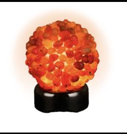 Tumbled Carnelian Lamp
