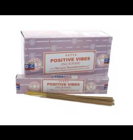 Nag Champa Satya Positive Vibes Incense Sticks-15 g